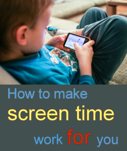 Although screen time as a bribe isn't usually a great idea, one time it works wonders is to offer it as an incentive for kids to get themselves ready for school in a timely manner.