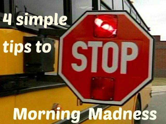 With the new school year around the corner, try these simple tips to make those crazy mornings a little less crazy!