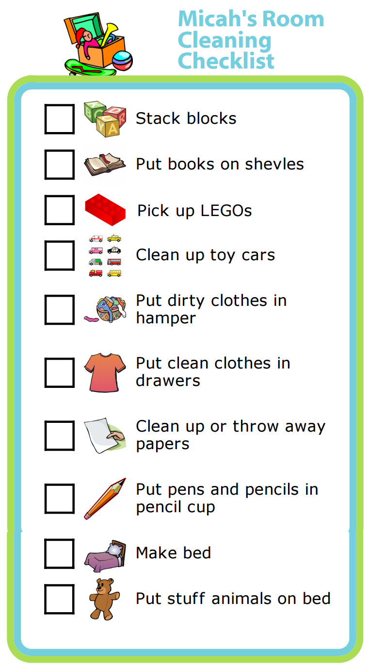 Week 5: Room Cleaning Checklist | The Trip Clip Blog