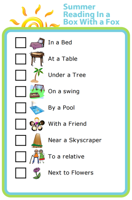 Try this unique summer reading challenge for kids. Use The Trip Clip Custom List to add your own fun ideas and inspire your kids to read in a fun and somewhat silly way. It just might work!