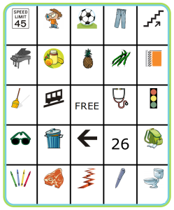 Use The Trip Clip to generate a random Bingo Board, and then have your kids use the pictures to inspire them to write a story!