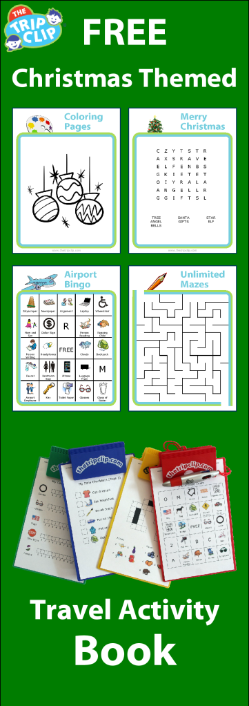 FREE printable activities to keep your kids busy on the plane, in the car, or even just at grandma's house!