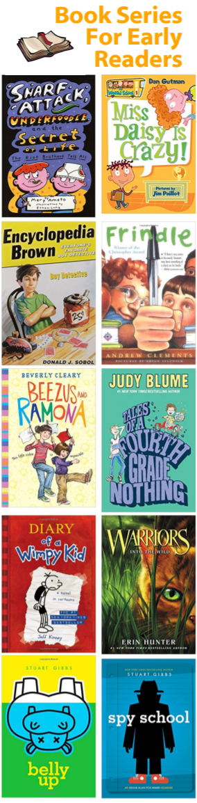 For kids who like the familiar, books series are a great choice. These are all excellent choices!