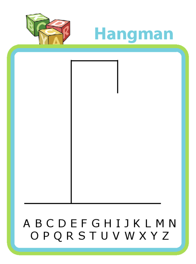 Your kids won't know they're learning - but playing hangman with them is an excellent way to practice spelling and handwriting.
