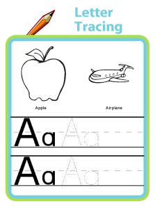 Handwriting practice - you can even enter your own words for your kids to trace!