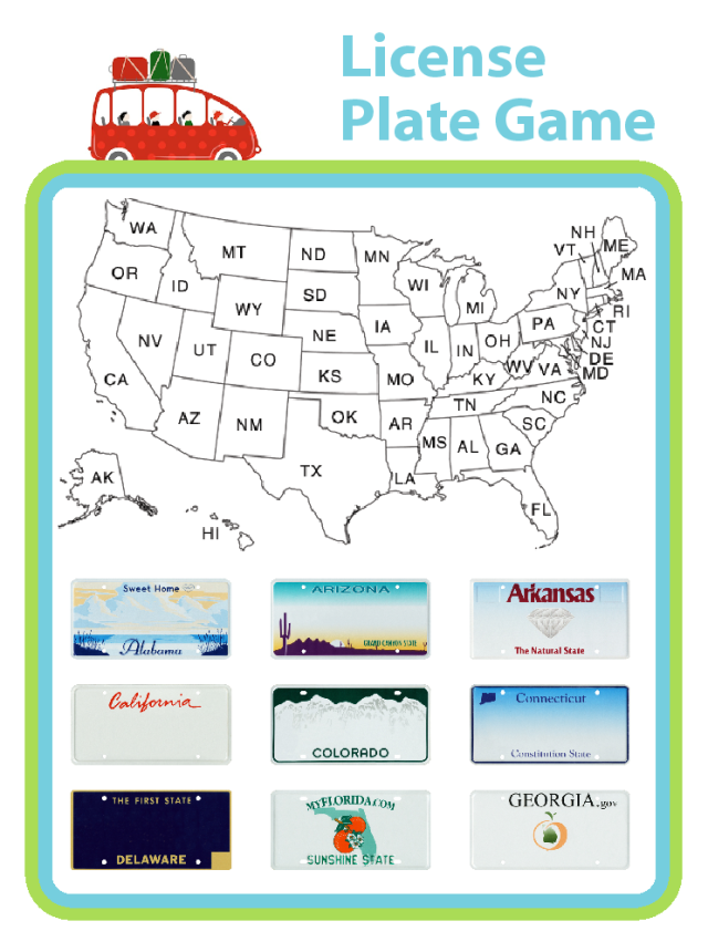 Going on a road trip? Do a little geography practice along the route. It's fun for the whole family!