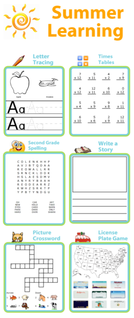 Summer can be a great time to catch up on skills that aren't as solid as you'd like them to be, or maybe get a little ahead for the upcoming year. At The Trip Clip you can create custom letter tracing pages, math worksheets, spelling activities, and more!