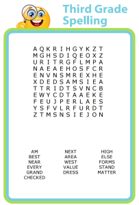 Help your kids prepare for the upcoming school year with some spelling practice! Use grade-appropriate words and create your own puzzles!