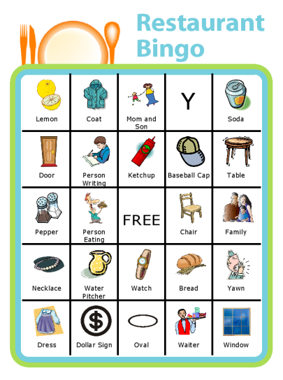free printable restaurant bingo the trip clip blog make any