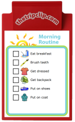 A solid morning routine can make a world of difference when you're trying to get the kids out the door for school every morning. This picture list is simple, nice to look at, and works well for kids of all ages. I used one with my kids until they were around 10 or 11 and could remember all of this on their own. You can also easily edit this list to make it just right for your family.