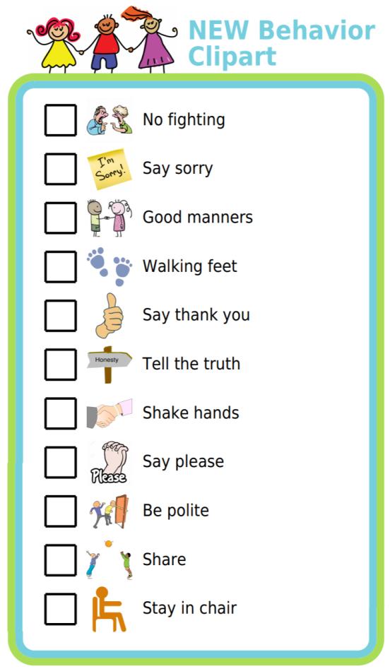 new-custom-behavior-clipart