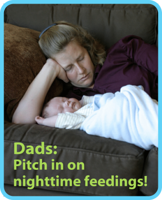 Every family does this differently and like everything else about parenting, each family needs to figure out what works best for their family. But in this blog post I make the case for dads doing half of the nighttime feedings.