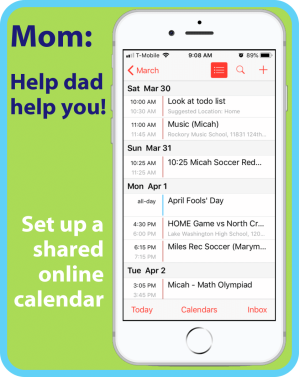 I find that often things fall on me not because my husband isn't willing to help, but because he doesn't have the information he needs to help effectively. A shared to do list and a shared family calendar are both great tools to combat the problem of mom being responsible for everything.