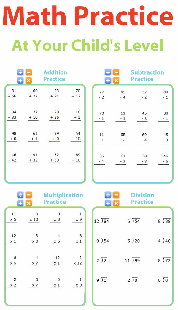 math-worksheets-practice-addition-subtraction-multiplication-division-customize-short